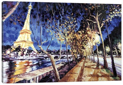Avenue De New York Canvas Art Print