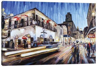 Bienville & Bourbon Canvas Art Print