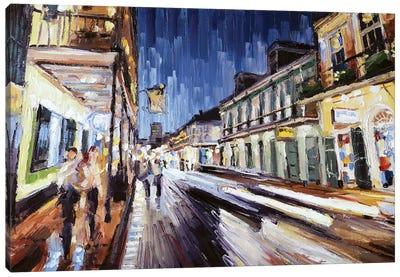 Bourbon & St Peter Canvas Art Print