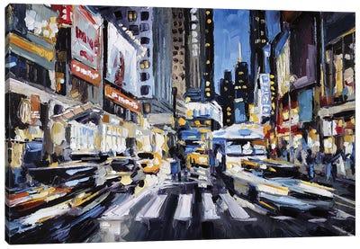 Broadway & 47th Canvas Art Print