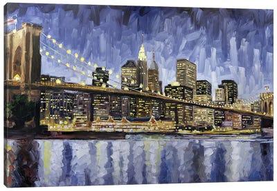 Brooklyn Bridge Canvas Art Print