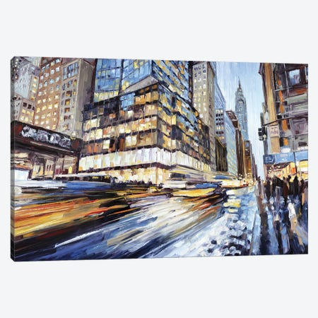 42nd & 5th Canvas Print #RDI2} by Roger Disney Canvas Art