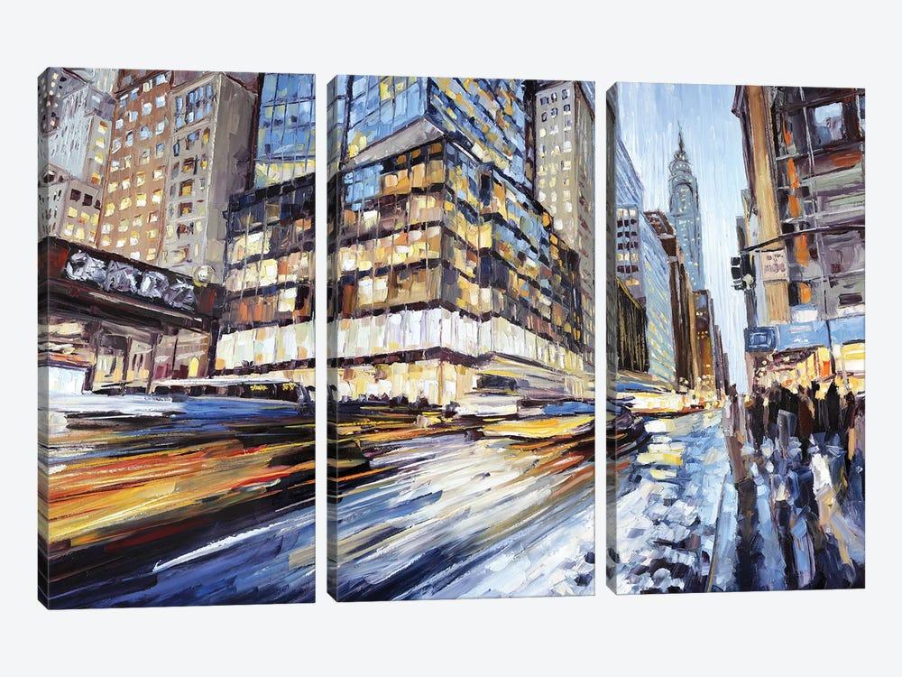 42nd & 5th by Roger Disney 3-piece Art Print