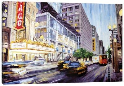 Chicago Theatre II Canvas Art Print