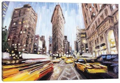 Flatiron Building Canvas Art Print