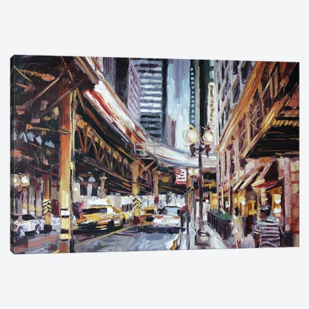 Lake & Wabash Canvas Print #RDI39} by Roger Disney Canvas Art