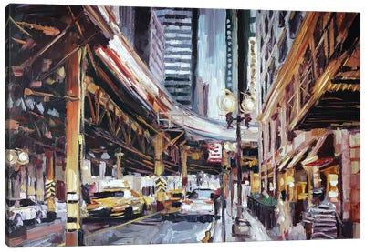 Lake & Wabash Canvas Art Print