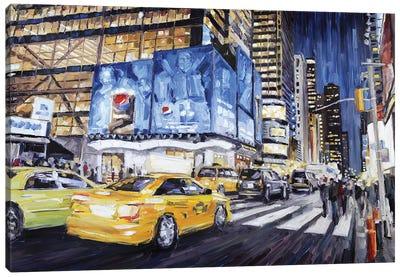 42nd & Broadway I Canvas Art Print
