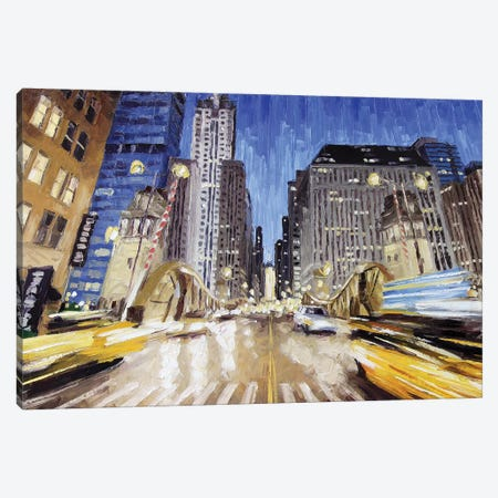 Lasalle Bridge Canvas Print #RDI43} by Roger Disney Canvas Print