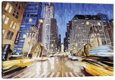 Lasalle Bridge Canvas Art Print