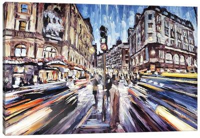 Leicester Square Canvas Art Print