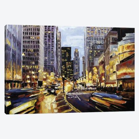 Michigan & Erie Canvas Print #RDI45} by Roger Disney Canvas Wall Art