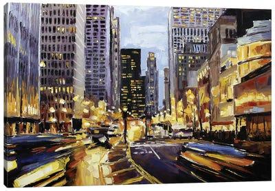 Michigan & Erie Canvas Art Print