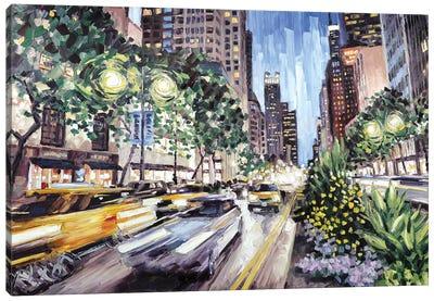 Michigan & Ontario Canvas Art Print