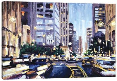 Michigan Ave Canvas Art Print