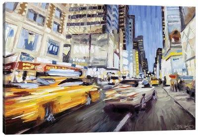 42nd & Broadway II Canvas Art Print