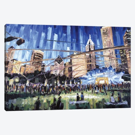 Millennium Park Canvas Print #RDI51} by Roger Disney Canvas Art