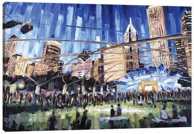 Millennium Park Canvas Art Print
