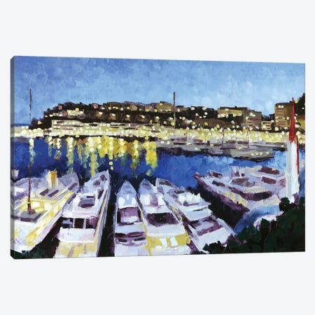 Monaco II Canvas Print #RDI52} by Roger Disney Canvas Artwork