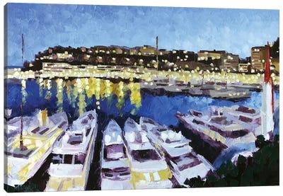 Monaco II Canvas Art Print