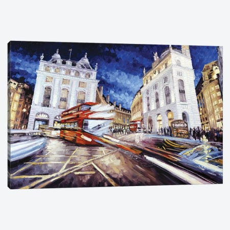 Piccadilly Circus III Canvas Print #RDI57} by Roger Disney Canvas Print