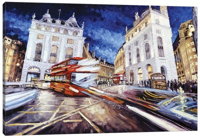 Piccadilly Circus III Canvas Art Print