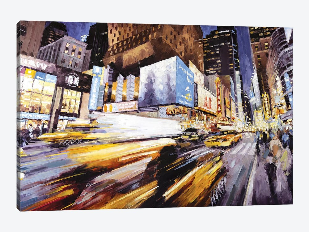 42nd At 8th Ave by Roger Disney 1-piece Canvas Art