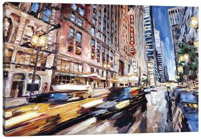 Randolph Street Canvas Art Print