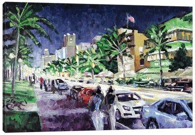 South Beach Canvas Art Print