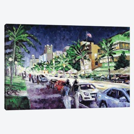 South Beach Canvas Print #RDI63} by Roger Disney Canvas Art Print