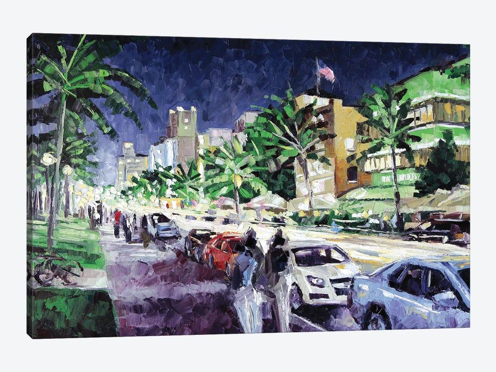 South Beach by Roger Disney 1-piece Canvas Wall Art