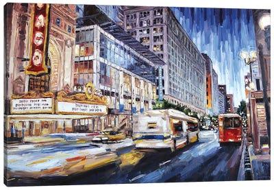 State Street New Canvas Art Print