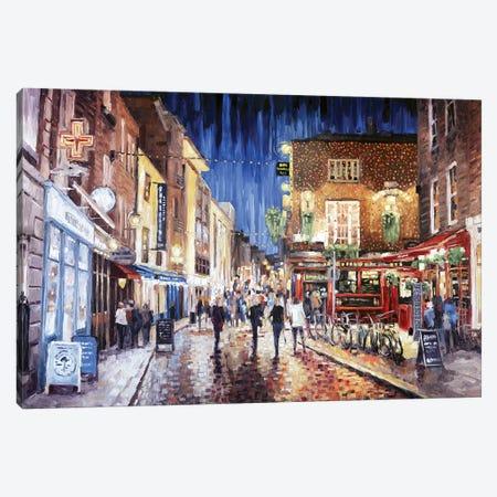 Temple Bar 3-Piece Canvas #RDI67} by Roger Disney Canvas Art