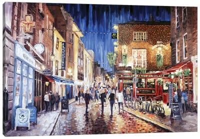 Temple Bar Canvas Art Print
