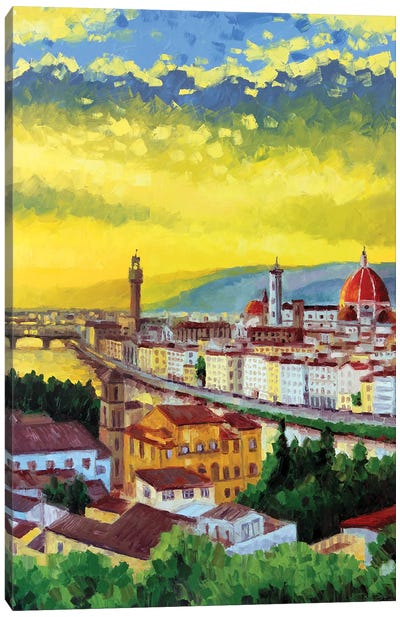 Florence, Italy Canvas Art Print