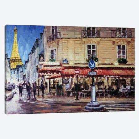 Rue Saint-Dominique, Paris Canvas Print #RDI81} by Roger Disney Canvas Art Print