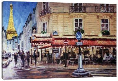 Rue Saint-Dominique, Paris Canvas Art Print