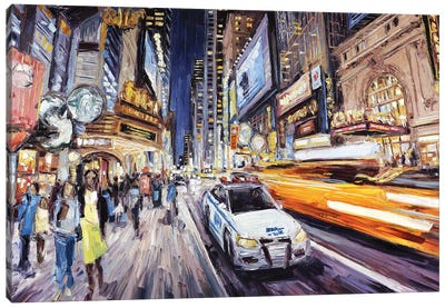 42nd East Of 8th Canvas Art Print