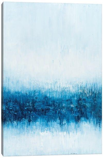Blue Reflections I Canvas Art Print