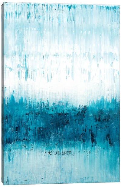 Blue Reflections II Canvas Art Print