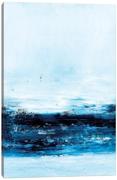 Blue Reflections III Canvas Art Print