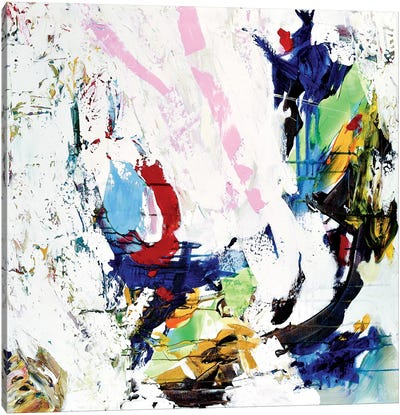 Confetti Canvas Art Print