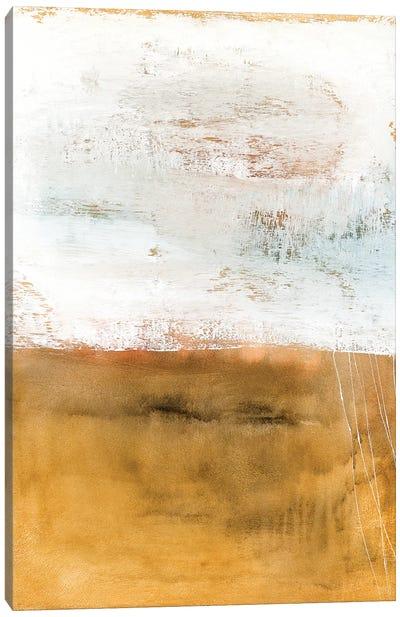 Gold Meets White Canvas Art Print
