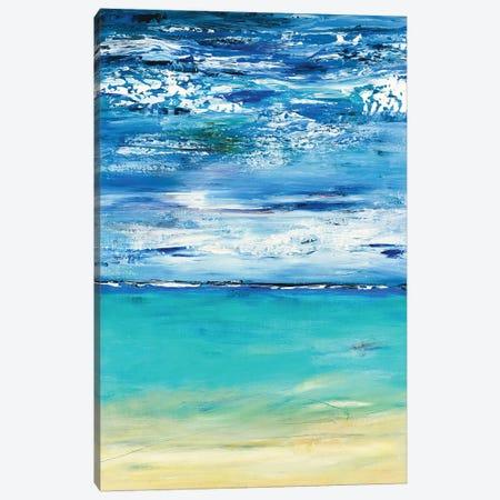 Beach Abstract 3-Piece Canvas #RDK3} by Radek Smach Canvas Art