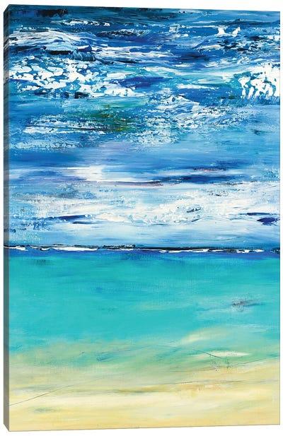 Beach Abstract Canvas Art Print