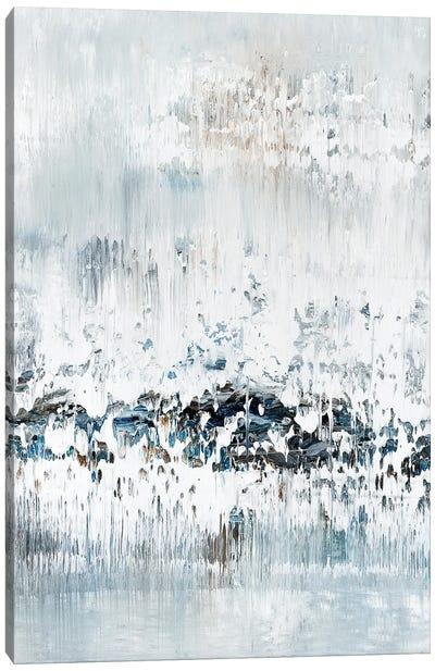Marble Blue Iceberg Canvas Art Print