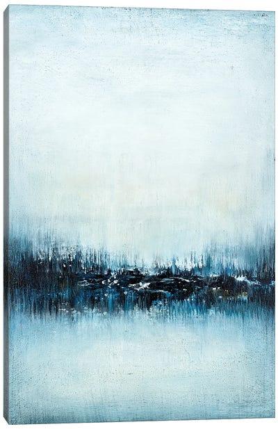 Navy Horizon Canvas Art Print