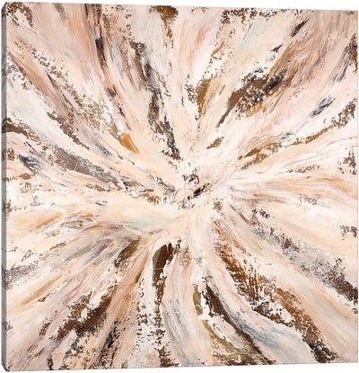 Neutral Sunburst Canvas Art Print