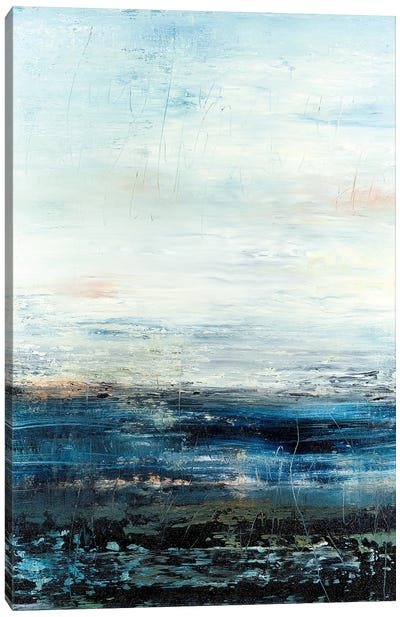 Ocean Blue Floor Canvas Art Print