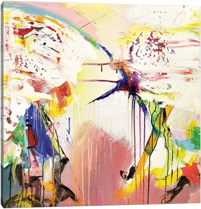 Pink Prism Canvas Art Print